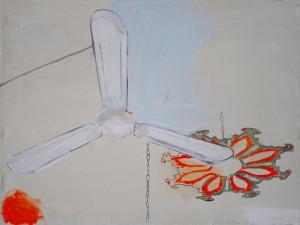 Lesbos 60x80cm Acryl auf Leinwand 2012